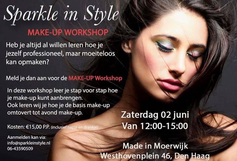 Make-up Workshop Sparkle in Style
